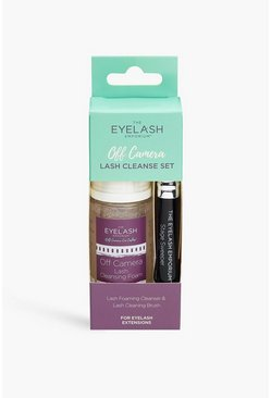 The Eyelash Emporium - Kit duo nettoyant cils, Clear clair