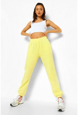 Lemon yellow Basic Regular Fit Jogger