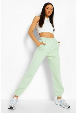 Apple green green Basic Regular Fit Jogger