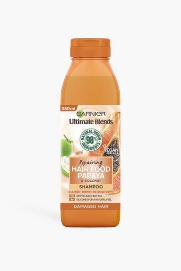 Orange Garnier Ultimate Blends Repairing Shampoo