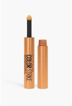 Gold metallic Maybelline Color Strike Eyeshadow Pen Makeup