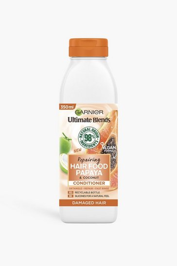 Orange Garnier Ultimate Blends Papaya Conditioner