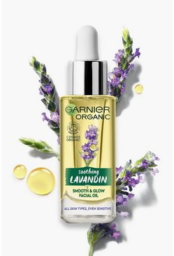 Yellow Garnier Organic Lavandin Smooth & Glow Oil