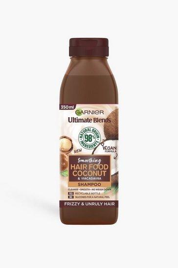 Brown Garnier Ultimate Blends Smoothing Shampoo