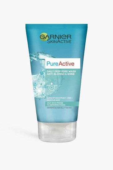 Blue Garnier Pa Anti Blackhead Pore Face Wash