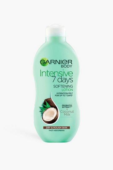 Mint green Garnier Intensive 7 Days Coconut Lotion