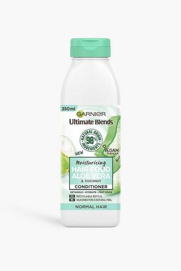 White Garnier Ultimate Blends Aloe V Conditioner