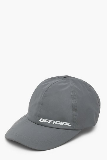 Grey Official Reflective Cap