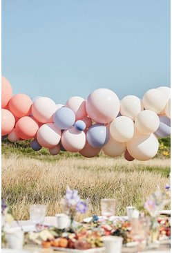 Multi Ginger Ray Pastel Balloon Arch