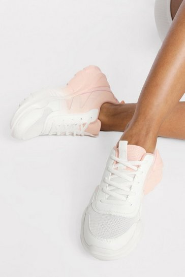 Nude Ombre Chunky Trainer
