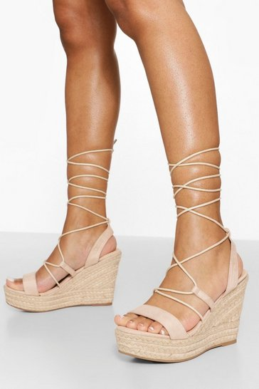 Nude Caged Gladiator High Wedge