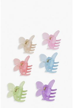 Multi Super Mini Butterfly Claw Clip Pack