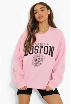Baby pink pink Boston Super Oversized Sweater