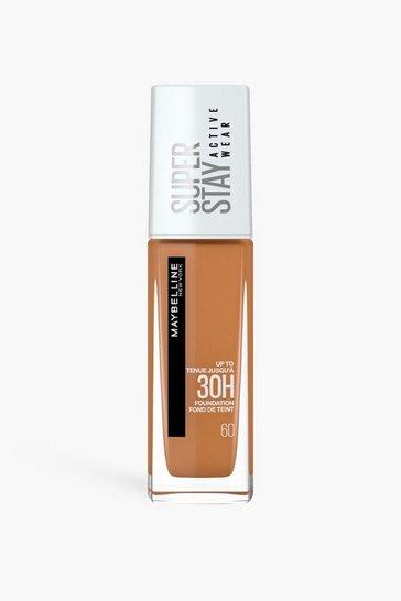 Caramel beige Maybelline Superstay Full Cov Foundation 60