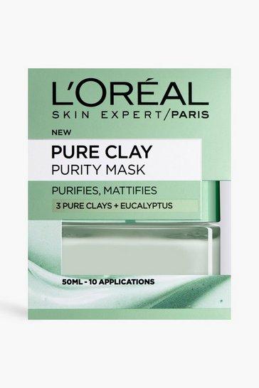 Multi L'oreal Paris Clay Purity Eucalyptus Mask
