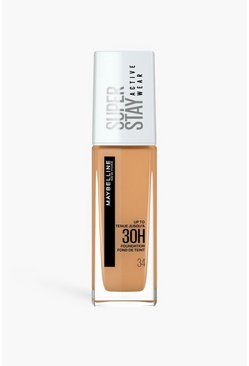 Light bronze metallic Maybelline Superstay Foundation 34