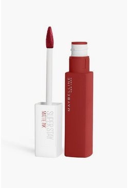 Maybelline Superstay Matter Liquid Lipstick, Red rot
