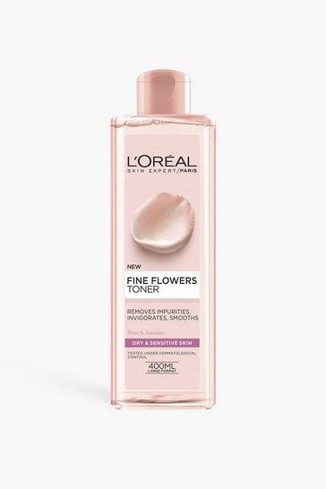 Clear L'oreal Paris Fine Flowers Cleansing Toner