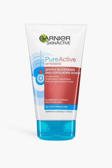 Clear Garnier Pure Active Blackhead Face Scrub