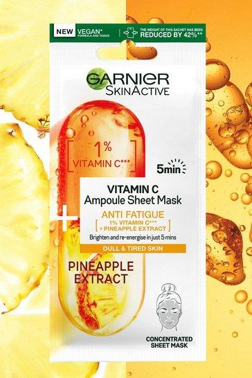 Clear Garnier Skinactive Anti Fatigue Sheet Mask
