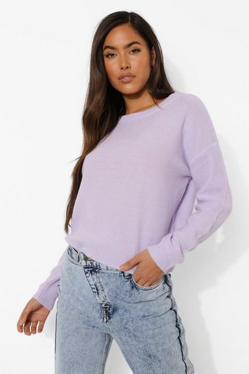 Lilac purple Pastel Jumper