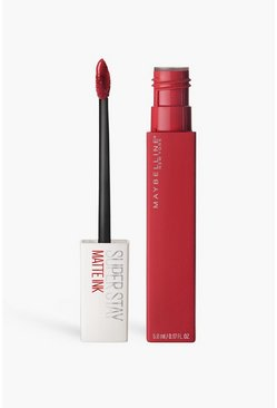 Maybelline Superstay Matte Liquid Lippenstift 20, Red rot