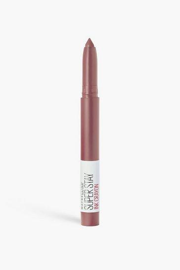 Nude Maybelline Superstay Matte Crayon Lipstick 15