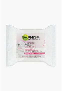 Garnier Skin Naturals Cleansing Wipes X 25, Pink rosa