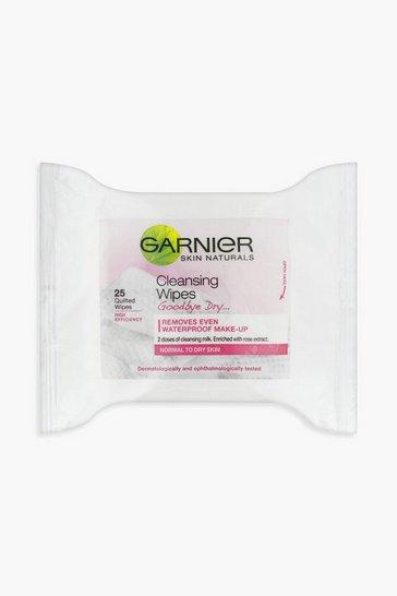 Pink Garnier Skin Naturals Cleansing Wipes X 25
