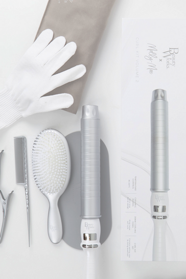 Silver Beauty Works X Molly-mae Curl Kit Volume 2