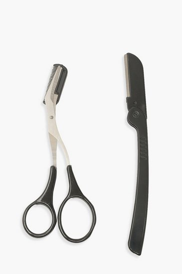 Black Scissors And Dermablade