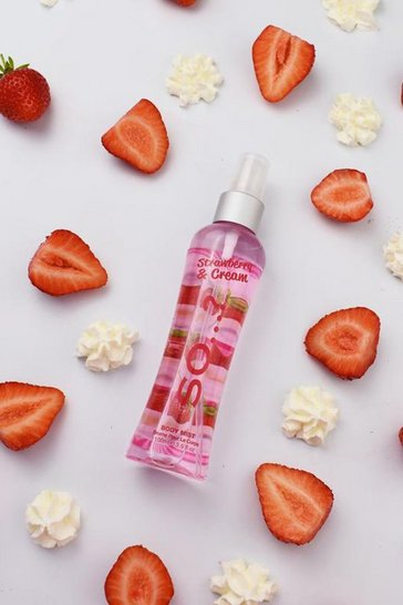 Pink Body Mist By So.? Strawberry & Cream 100ml