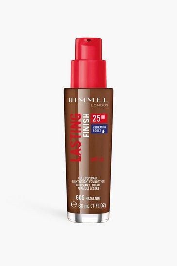 Nude Rimmel Lasting Finish Foundation - Hazelnut