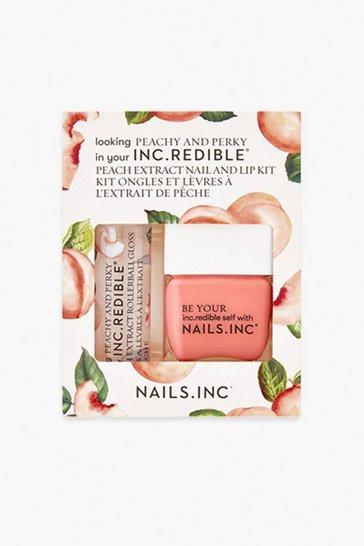Peach orange Nails Inc Peachy And Perky Duo