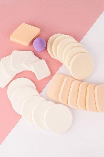 Brushworks Assorted Makeup Sponges