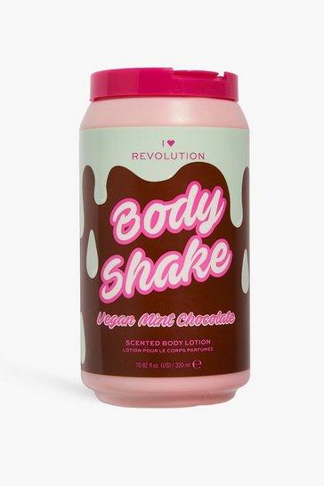 Pink I Heart Revolution Tasty Body Milkshake Mint