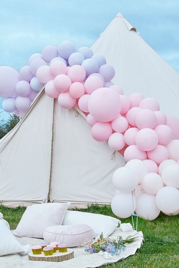 Pink Ginger Ray Pastel Balloon Arch