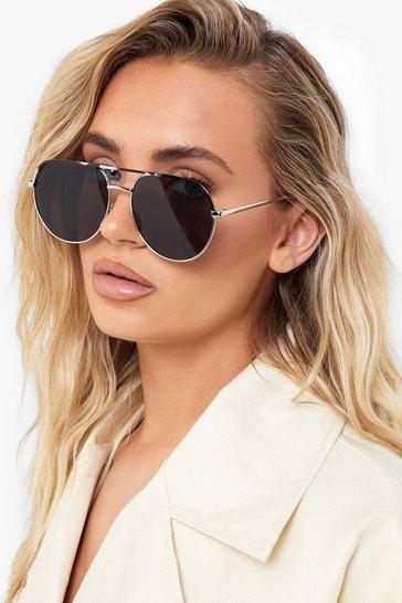 All Black Frame Classic Aviator Sunglasses
