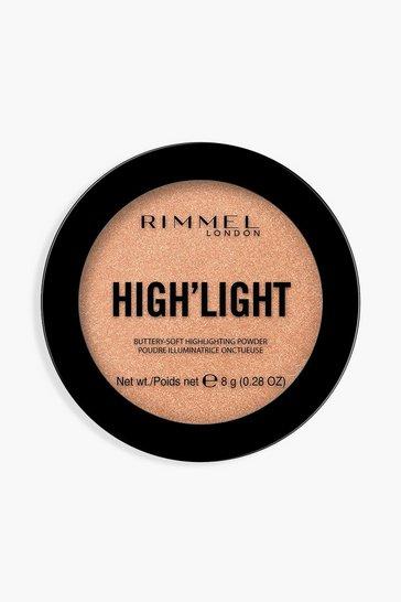 Dark brown Rimmel High'light Powder Afterglow
