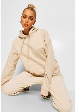 Sand Oversized Hoodie