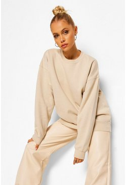 Sand beige Oversized Sweat