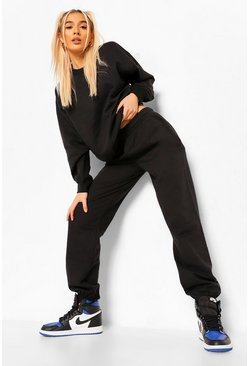 Black Sweat Tracksuit