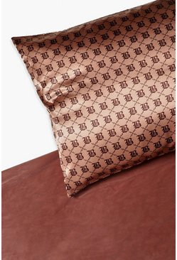 Camel B Satin Hair Protect Pillow Case