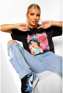 Black Jasmine Disney License T-Shirt