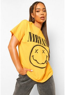 Yellow Nirvana License T-Shirt