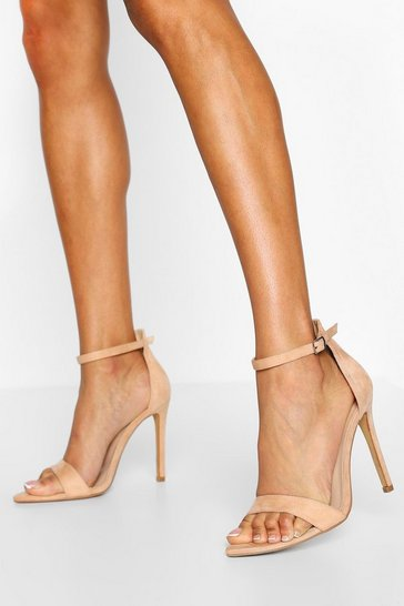 Nude Wide Fit Pointed Toe Two Parts