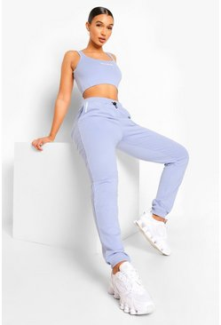Blue Sport Oversized Joggers