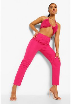 Hot pink pink Tailored Tapered Trouser
