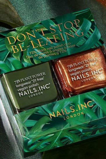 Multi Nails Inc Don't Stop Beleafing Duo