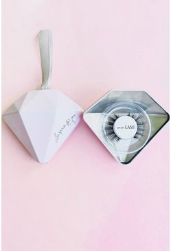 Oh My Lash Christmas Bauble, Pink rose
